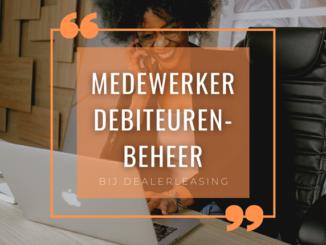 Medewerker debiteurenbeheer